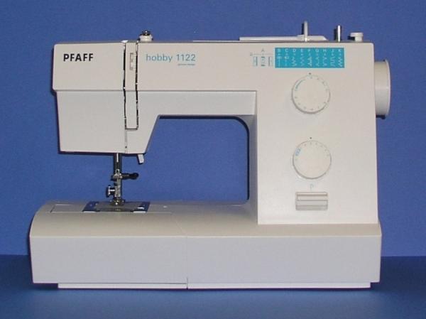 Wwwnaehmaschinendiscounterde PFAFF Hobby 40 Mit Fester Kofferhaube New Pfaff Hobby 1122 Sewing Machine